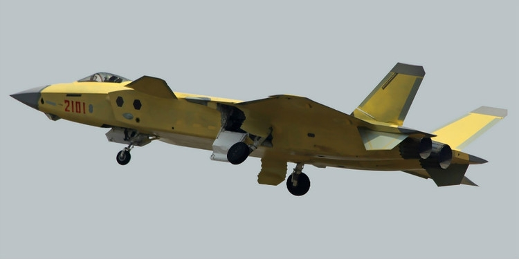 Le premier J-20 de série, immatriculé #2101, a effectué son vol inaugural le 18 Janvier 2016, il s'agit du 9ème J-20 en vol.