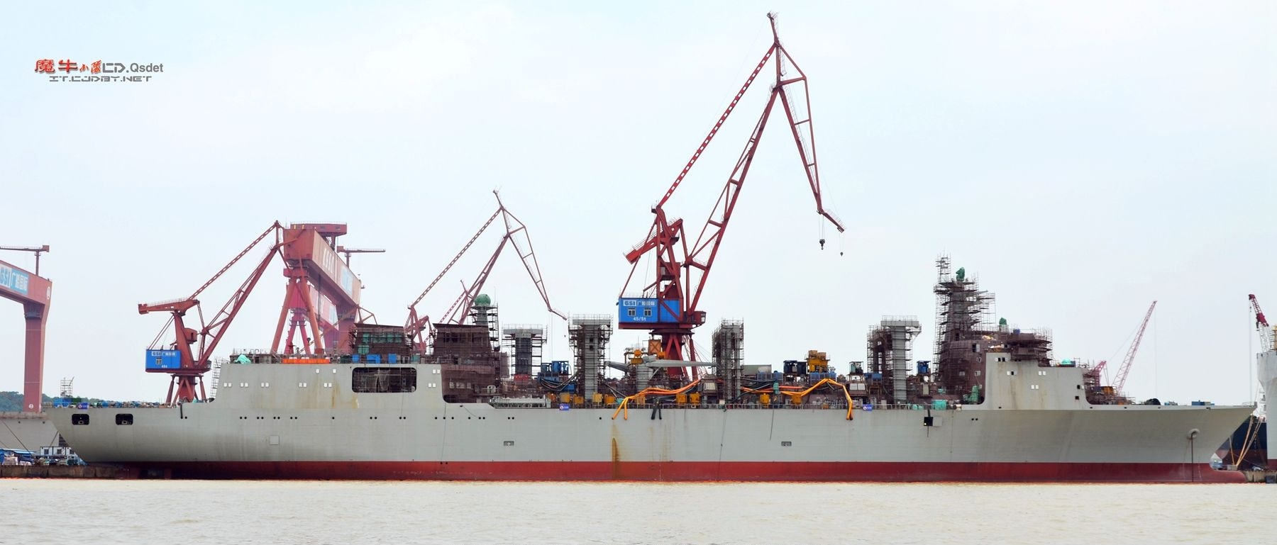 Premier Type 901 au chantier naval GSO