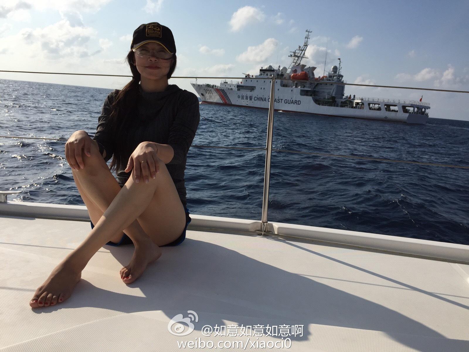 2016 07 15 - Un bombardier chinois au récif de Scarborough - 02