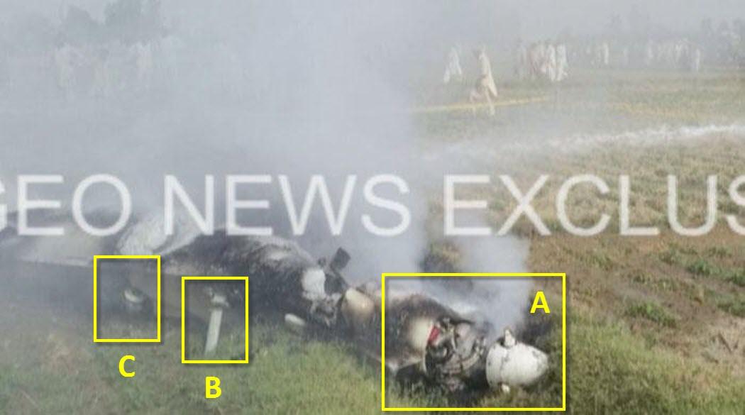 Première photo du drone qui s'est écrasé