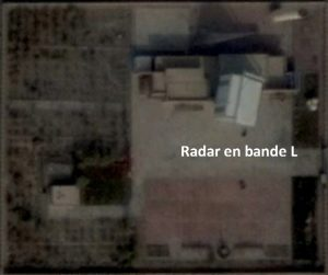 Site du radar de télémétrie longue portée à Korla