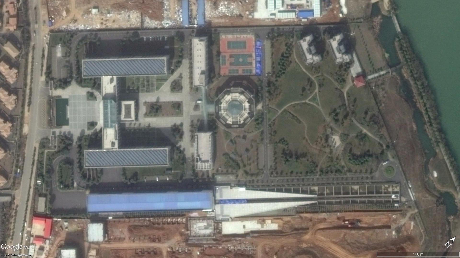 Site d'essais de l'EMALS chinois (??)