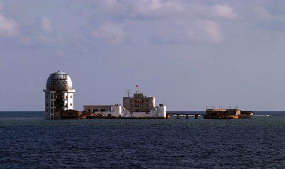 Station de radar du récif de Subi en 2009
