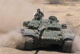 T-72M1 de l'armée de terre indienne
