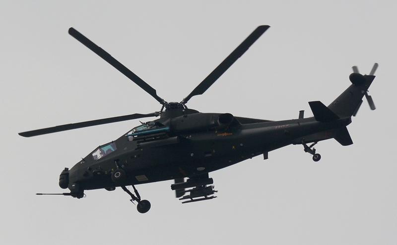 Le 107ᵉ hélicoptèreZ-10