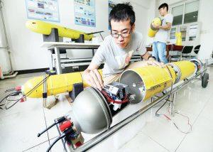 Planeur sous-marin de l'Université de Tianjin