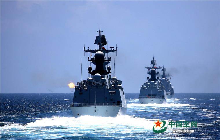 2016 08 14 - Exercice naval de la flotte de l'Est - 02