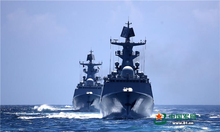 2016 08 14 - Exercice naval de la flotte de l'Est - 03