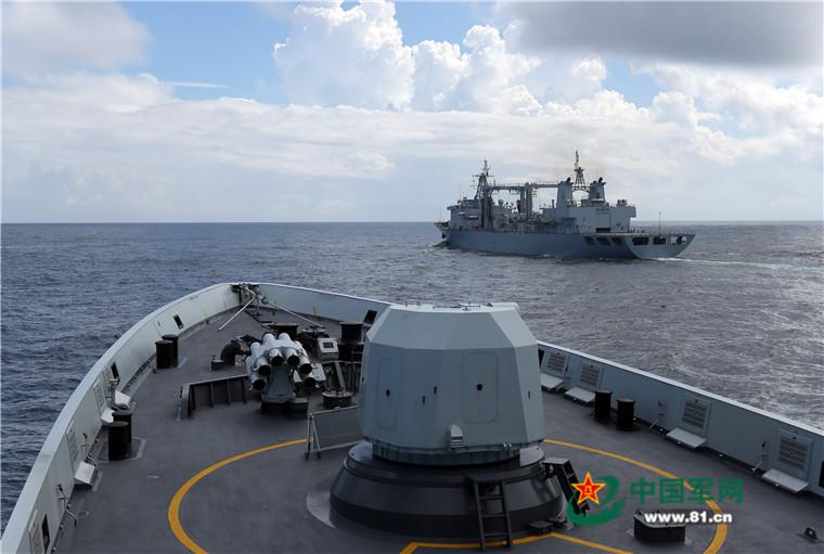 2016 08 14 - Exercice naval de la flotte de l'Est - 04