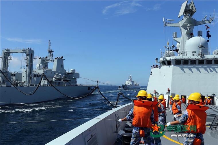 2016 08 14 - Exercice naval de la flotte de l'Est - 05