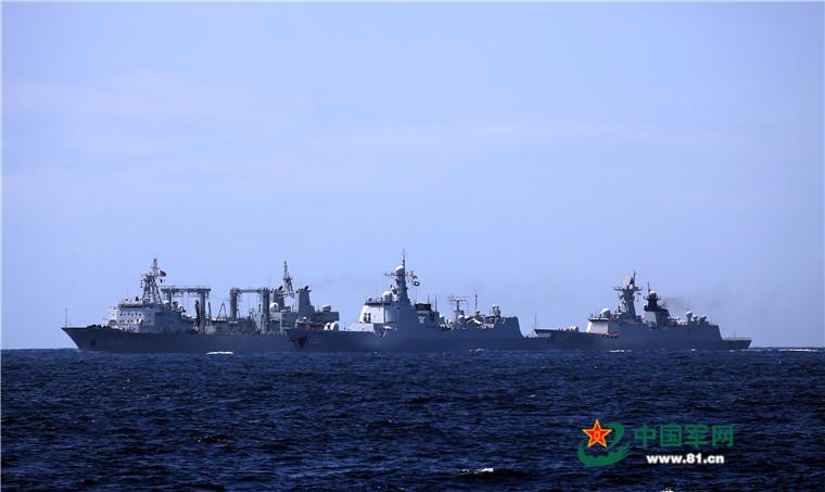 2016 08 14 - Exercice naval de la flotte de l'Est - 06