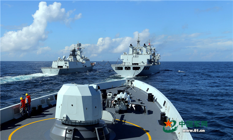 2016 08 14 - Exercice naval de la flotte de l'Est - 07