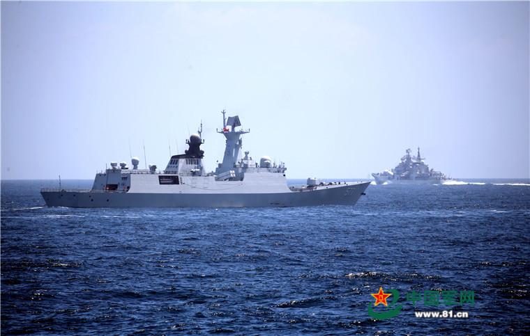 2016 08 14 - Exercice naval de la flotte de l'Est - 08