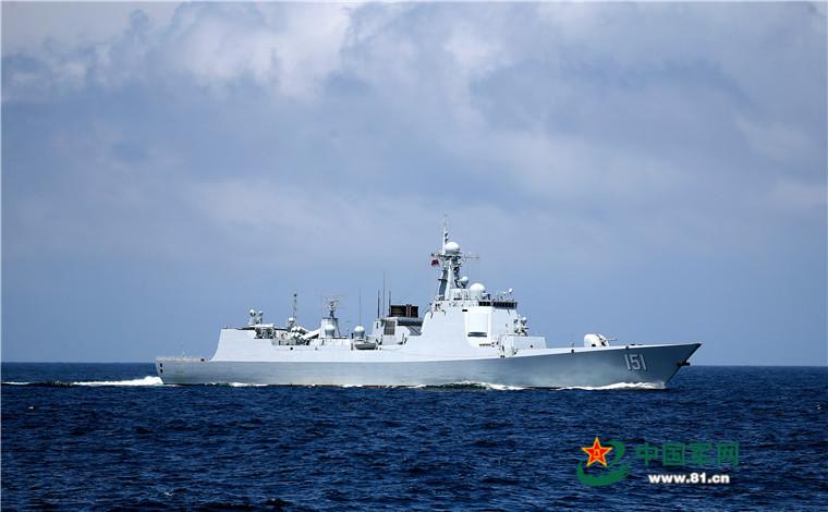 2016 08 14 - Exercice naval de la flotte de l'Est - 09