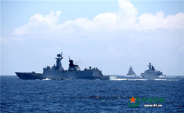 2016 08 14 - Exercice naval de la flotte de l'Est - 11