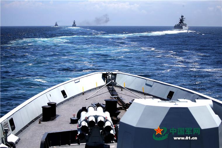 2016 08 14 - Exercice naval de la flotte de l'Est - 12