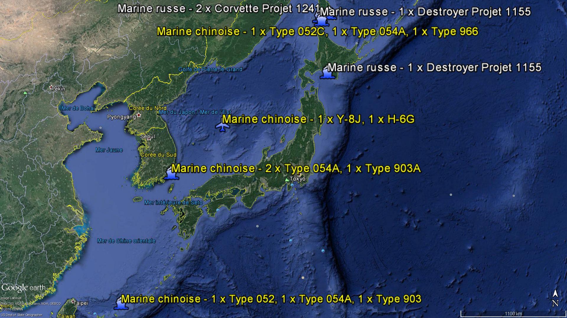 2016 08 19 - La marine chinoise autour du Japon - 03