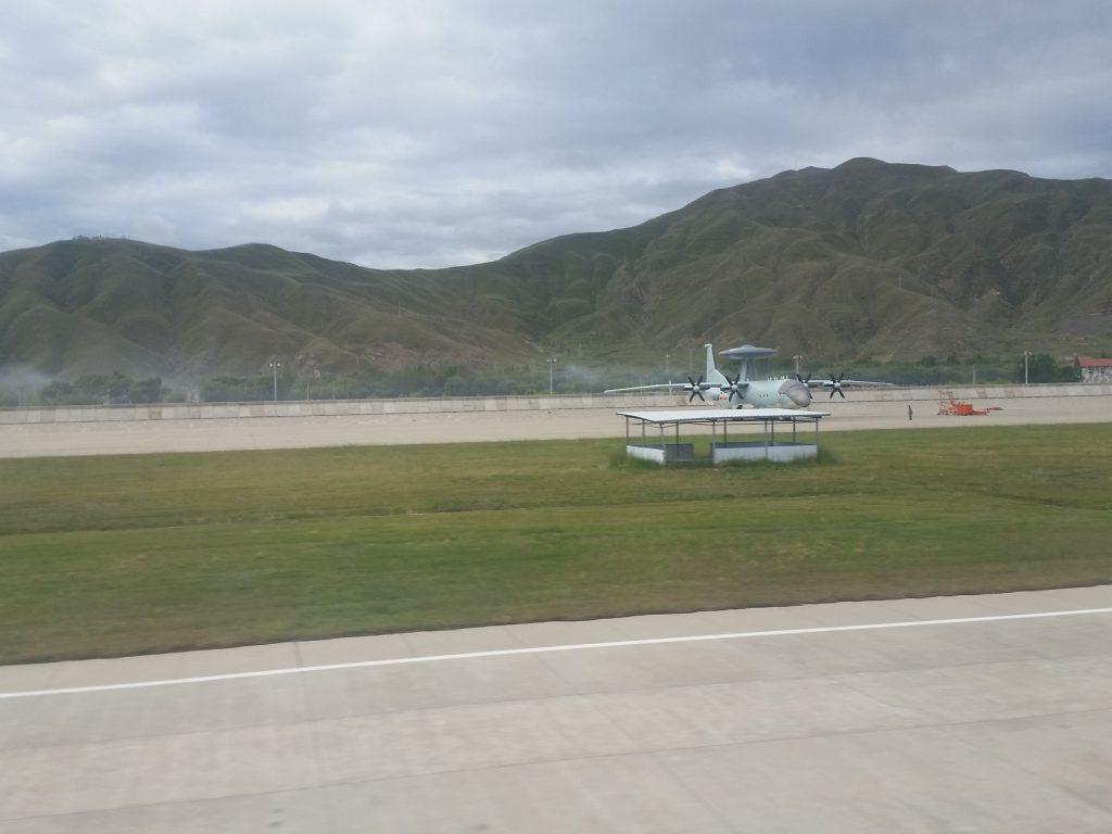 2016 08 23 - Déploiement de l'AWACS KJ-500 au Tibet - 03