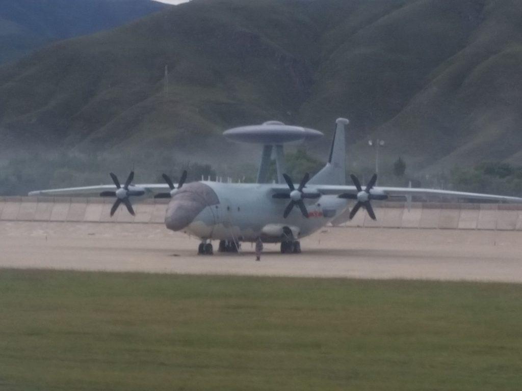 2016 08 23 - Déploiement de l'AWACS KJ-500 au Tibet - 06
