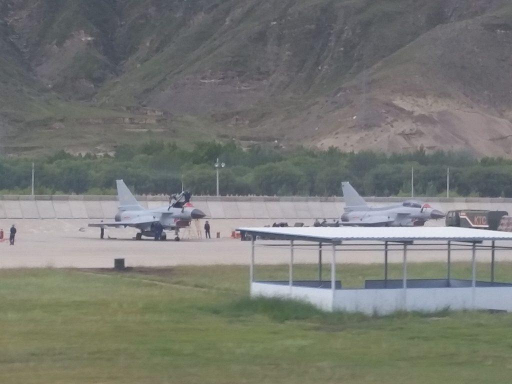 2016 08 23 - Déploiement de l'AWACS KJ-500 au Tibet - 08