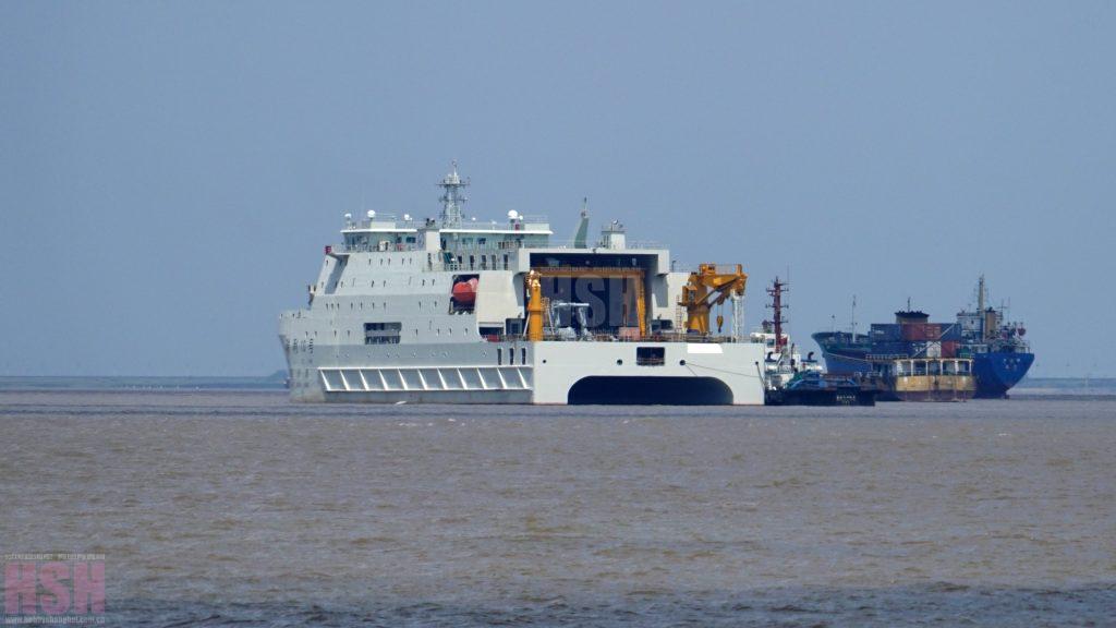 2016 08 24 - Essais en mer du navire océanographique Ruili 10 - 04