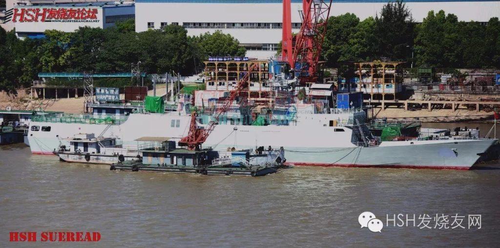 2016 08 28 - La 34ᵉ corvette Type 056 mis à flot - 02