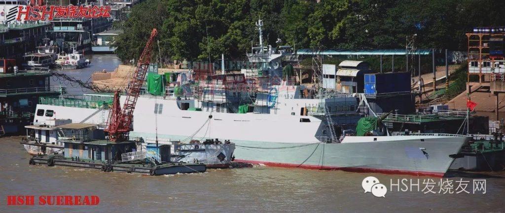 2016 08 28 - La 34ᵉ corvette Type 056 mis à flot - 03