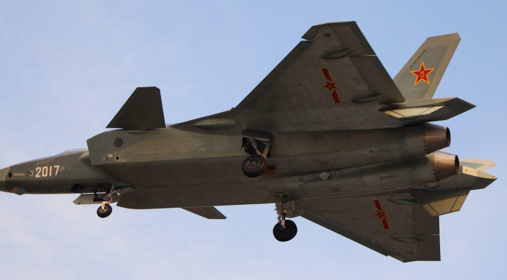Dernier prototype de J-20 immatriculé 2017