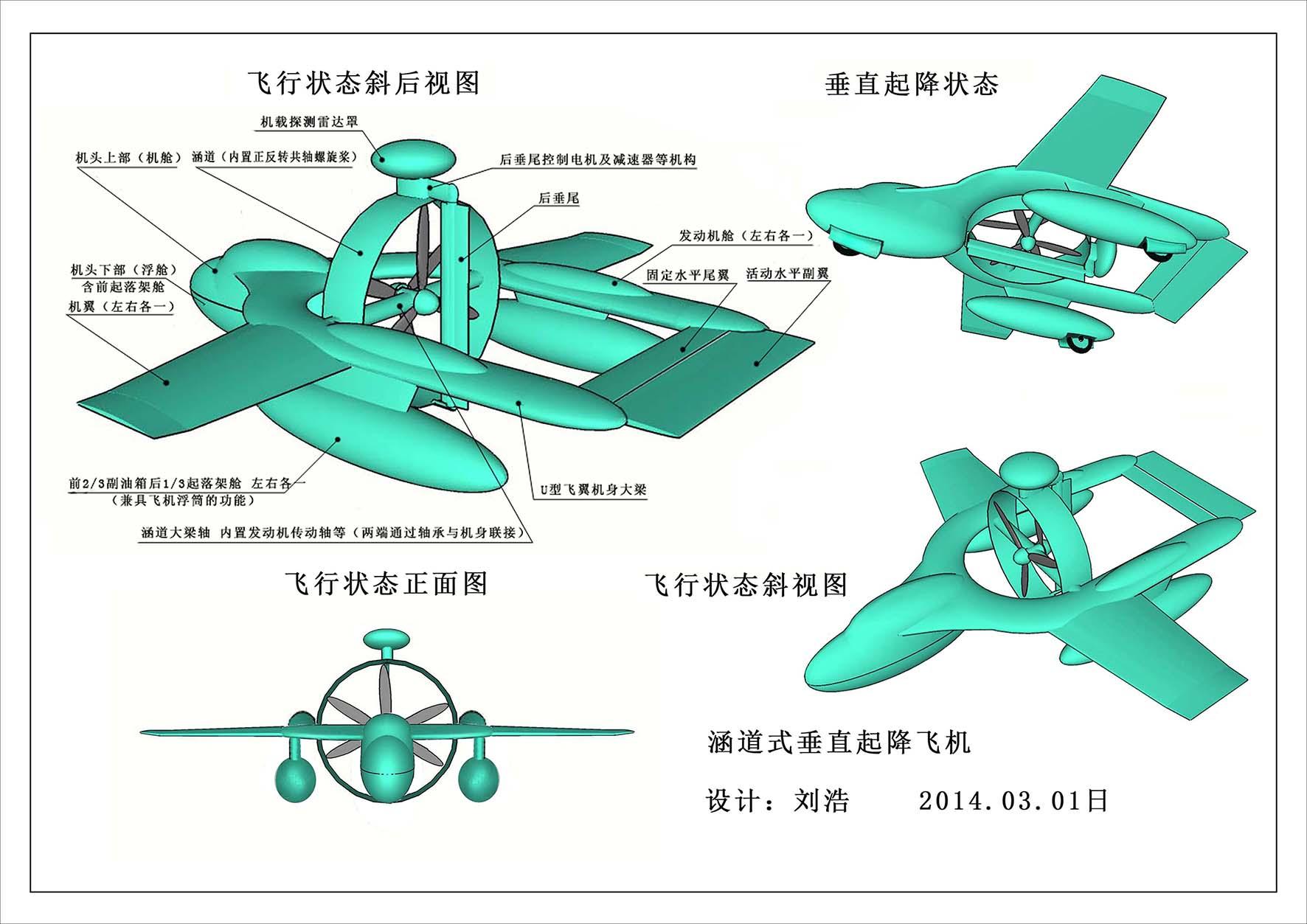 l'Albatros - un UAV AWACS à décollage vertical
