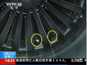 accidents d'avions en Chine