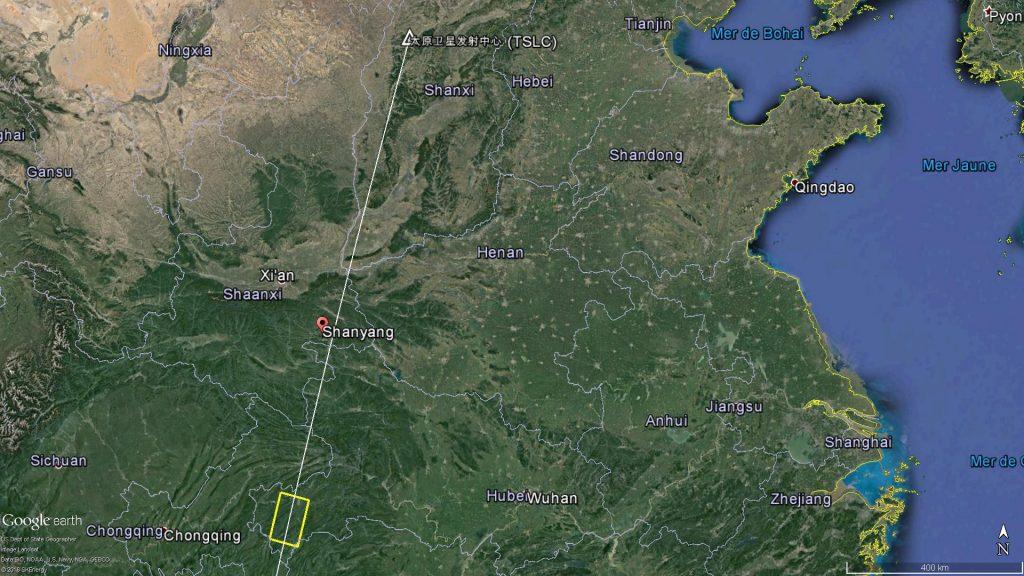 2016 09 01 - Échec du lancement de satellite GF-10 - 01