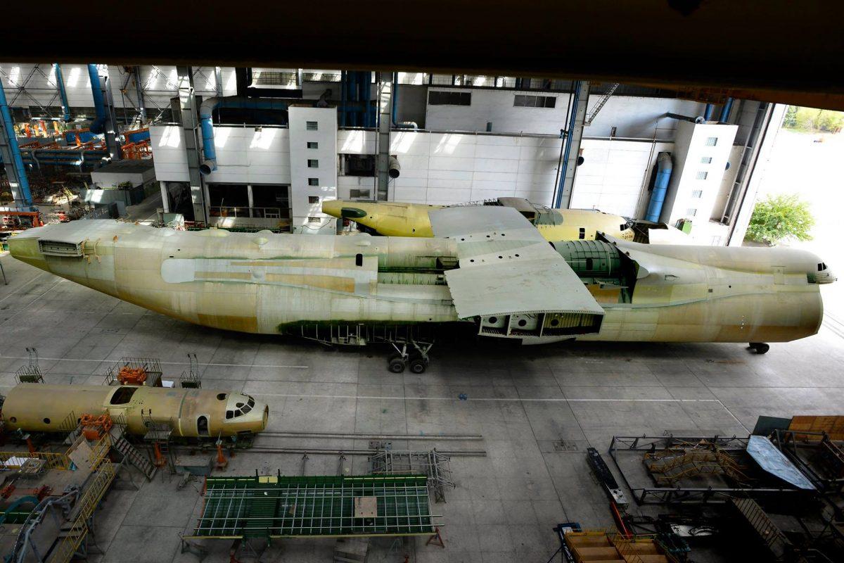 Deuxième Antonov An-225 en Ukraine