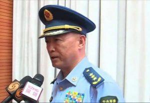 Le général d'armée aérienne MA Xiao Tian