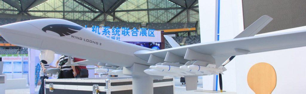 Maquette de Wing Loong II