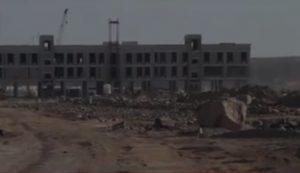 Un bâtiment administratif chinois en construction à Obock