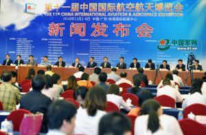 Conférence de presse d'Airshow China 2016 (Source : 81.cn)
