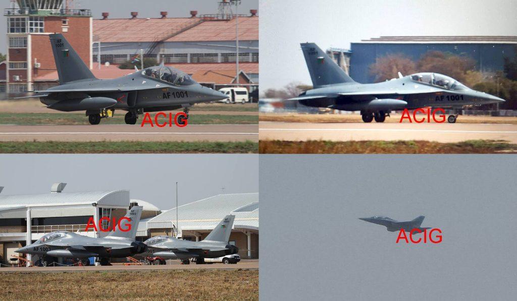 Deux L-15 immatriculé AF1001 et AF1003 sont arrivés en Afrique du Sud pour le salon AAD 2016