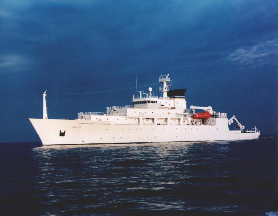 Navire océanographique USNS Bowditch de l'US Navy (Source : Military Sealift Command)