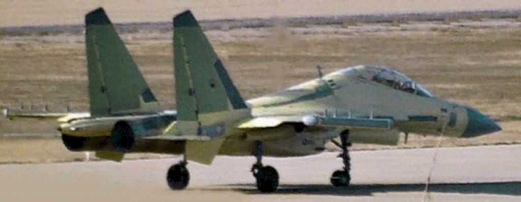Un prototype de J-16D (??)