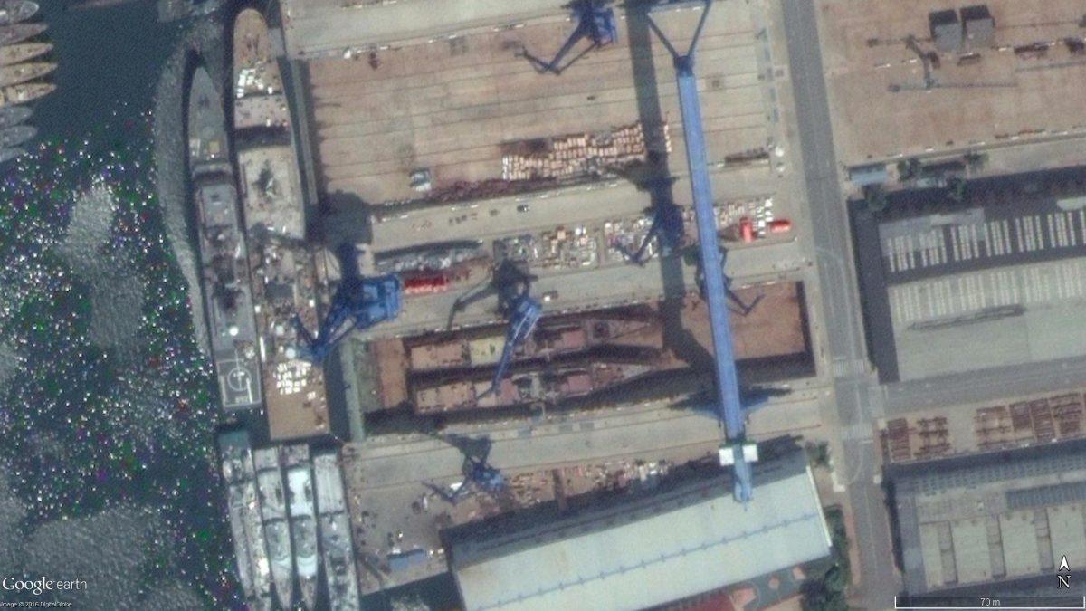 Deux corvettes Type 056 ont été mises à flot au chantier naval Liaonan