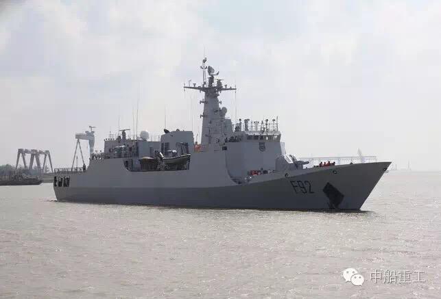 Le 2ème OPV P18B, NNS Unity, a quitté la Chine le 13 Septembre 2016. (Source : CSIC)
