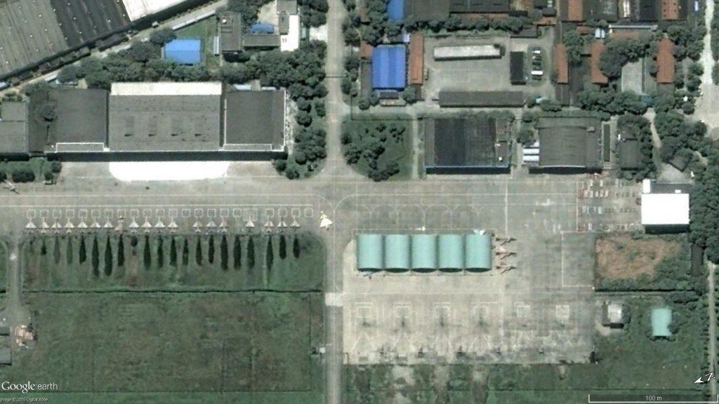 Le 22 Juillet 2008 (Source : Google Earth)