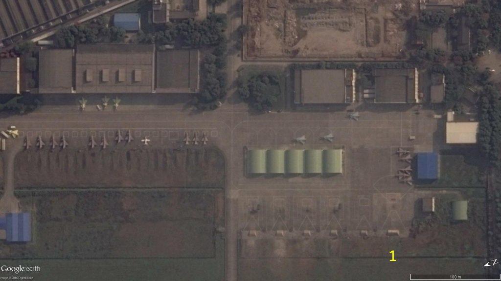 Le 5 Décembre 2013 (Source : Google Earth)