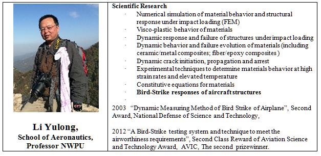 Li Yulong, spécialiste des radars de détection des oiseaux - accidents d'avions en Chine