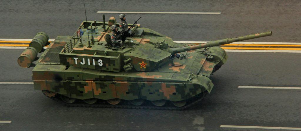 Char lourd chinois ZTZ-99A