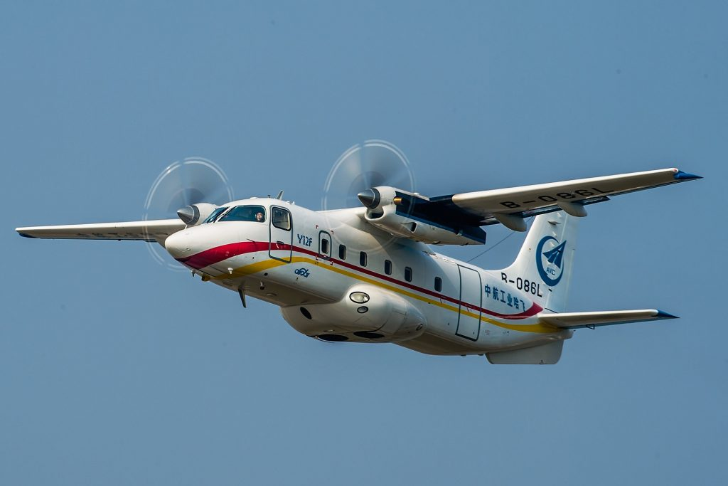 Avion de transport léger Y-12F