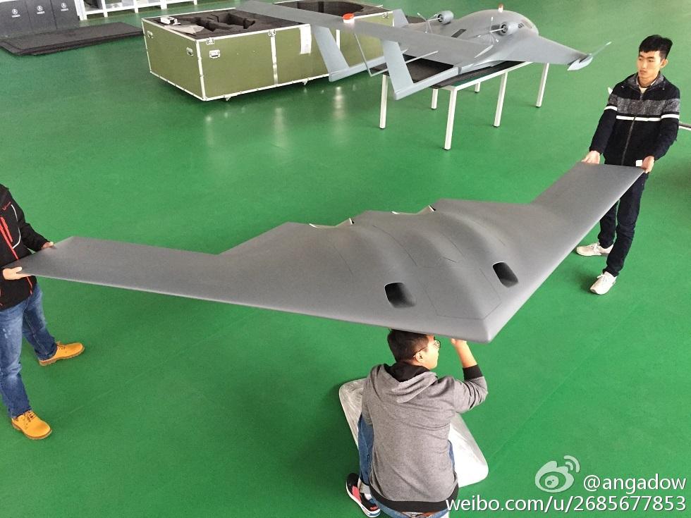 Maquette du CH-805 en cours de l'installation à l'Airshow China 2016