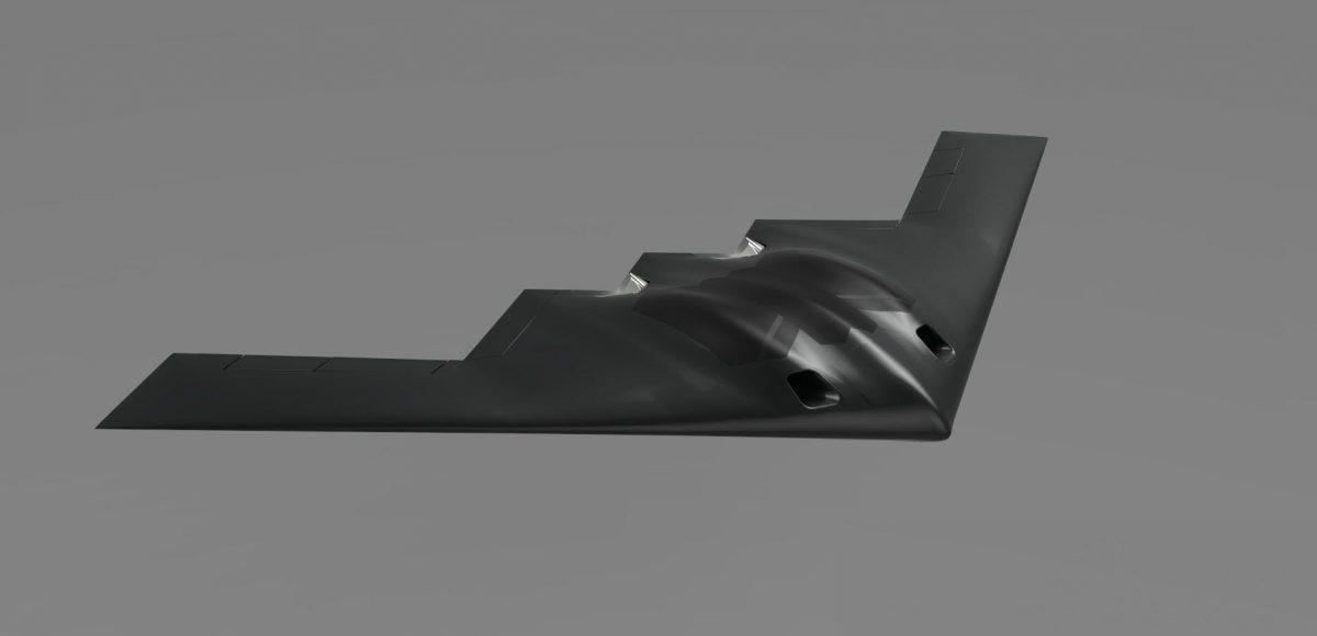 Drone B on