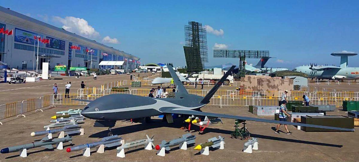 Cloud Shadow, l'un des drones armés présentés à l'Airshow China 2016