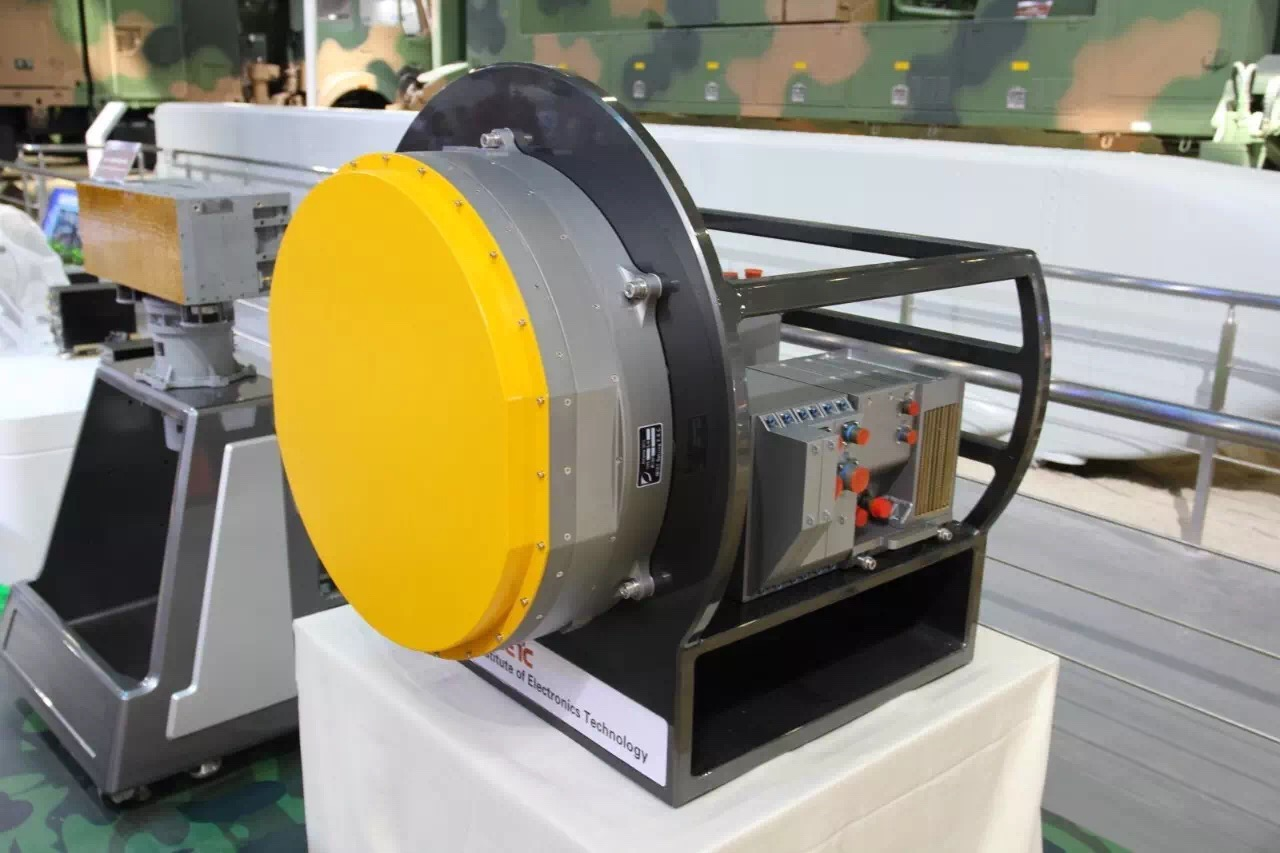 Le radar à AESA KLJ-7A